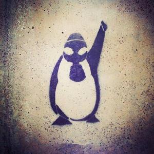 penguinprotest